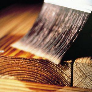 Farba na drevo na dlhé roky
